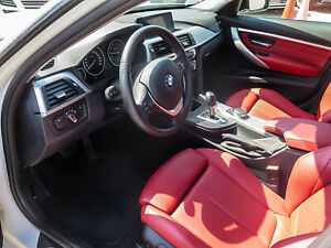 2017 BMW Série 3 XDRIVE RED LEATHER SUNROOF SPORT SEAT