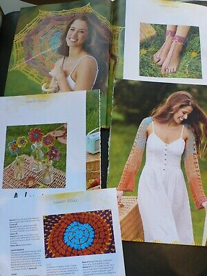 Knitting Pattern Lady/'s Pretty DK Parasol Patterned Lacy Top 76-102 cm 98