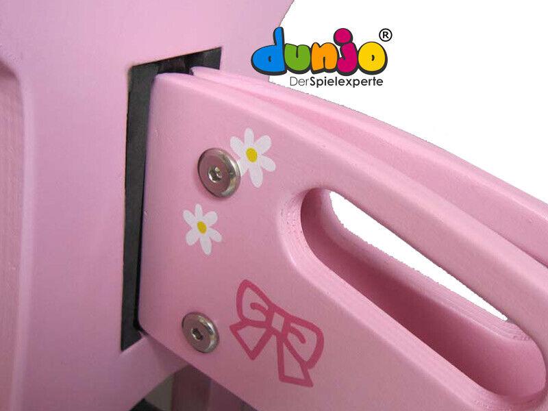 Dunjo® Holz Laufrad Laufrad Laufrad Lernlaufrad Rosa  Princess  für Kinder Mädchen ab 2 Jahren edbe4f