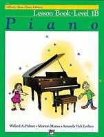 Alfred`s Basic Piano Library: Lesson Book Level 1b By Willard Palmer, (paperback on sale