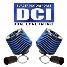 BLUE FILTERS BMS Dual Cone Performance Intake for N54 BMW 135 335 535 Z4