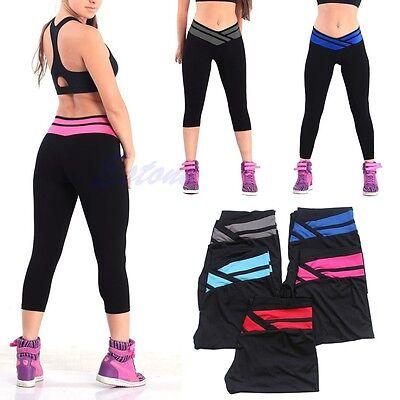 Vogue High Waist Leggings Fitness Women Sport Stretchy Skinny Running YOGA Pants