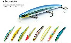 Leurre-poisson-nageur-jerkbait-SMART-118mm-18-2gr-peche-mer-brochet-bar-loup