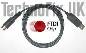 Details about FTDI USB COM Cat control cable Kenwood TS-450S TS-690S TS-790  TS-850S TS-950S/DX