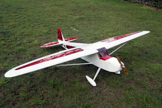 54in Aviator 25 36 Balsa Trainer Electric Nitro Powered