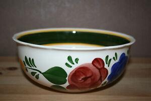 Bauernblume-neuwertige-Schuessel-19-5-cm-Villeroy-amp-Boch-Handmalerei