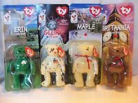 Ty Teenie Beanie Babies Complete Set Of 4 1999 Ronald Mcdonald House Charities