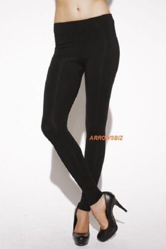 New High Quality Basic Essential Viscose Stretch Leggings Pants Size UK 6-20 UK