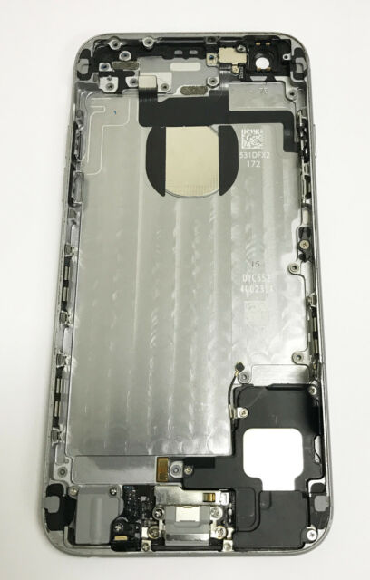 the best attitude ac573 2495c Genuine Original Apple iPhone 6 Back Rear Housing Cover With Parts - Grey