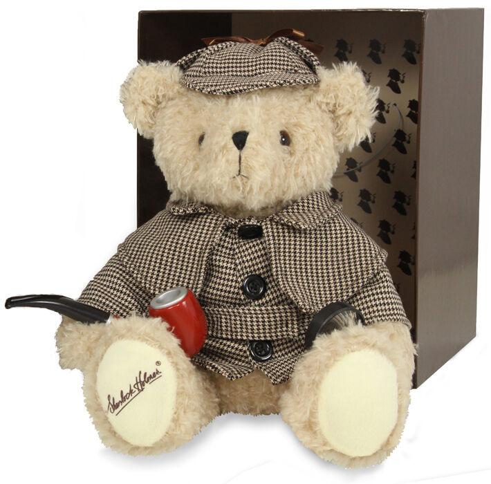 Sherlock Holmes Offiziell Lizenziert Teddybär von Sherlock Holmes Company