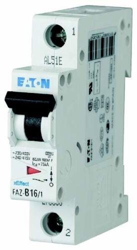 Disjoncteur de ligne Eaton à faz-b6//1 ip20 LS-Interrupteur Protège 278529