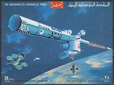 Yemen Kgr 1969 ** Bl.176 Weltraum Space Apollo