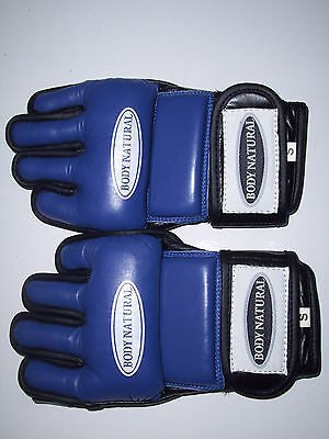 MMA LEATHER GLOVES plus a FREE MOUTH GUARD