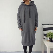 f8c0e1c3502 Fashion Women s Long Sleeve Loose Casual Plus Sweatshirt Hoodies Long Maxi  Dress