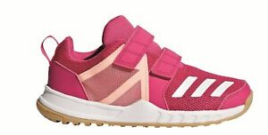 Adidas-Perfomance-Bambini-Hallen-Fitness-Fortagym-Cf-K-Chiusura-a-Strappo-Reale