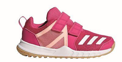 Adidas Perfomance Bambini Atri-fitness Scarpa Fortagym Cf K Velcro Real Magenta-mostra Il Titolo Originale