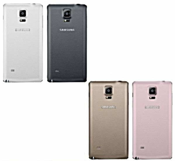 separation shoes cd268 bf9b0 Genuine Samsung Galaxy Note 4 SM-N910F Battery Back Cover Replacement