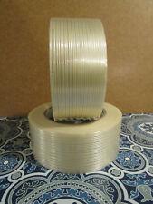 Economy 2 X 60 Yd Filament Reinforced Strapping Fiberglass Tape 6 Mil 2pk