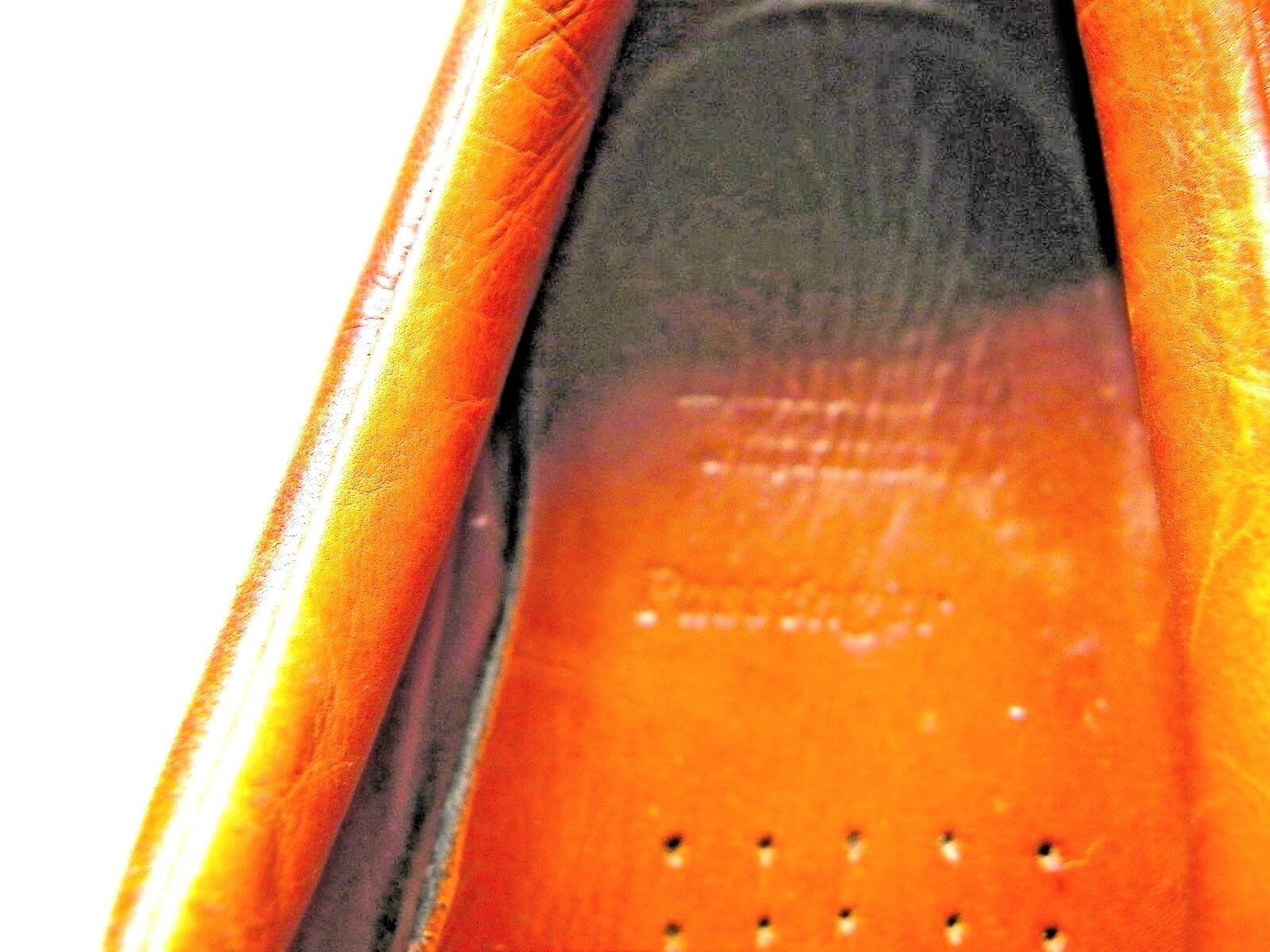 Allen Edmonds Passenger Passenger Passenger Brown Oxford Dress Shoes 9 D 3623 Made USA a02271