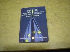 Belgien , 2007 , 2 Euro in Original COINCARD , Römische Verträge