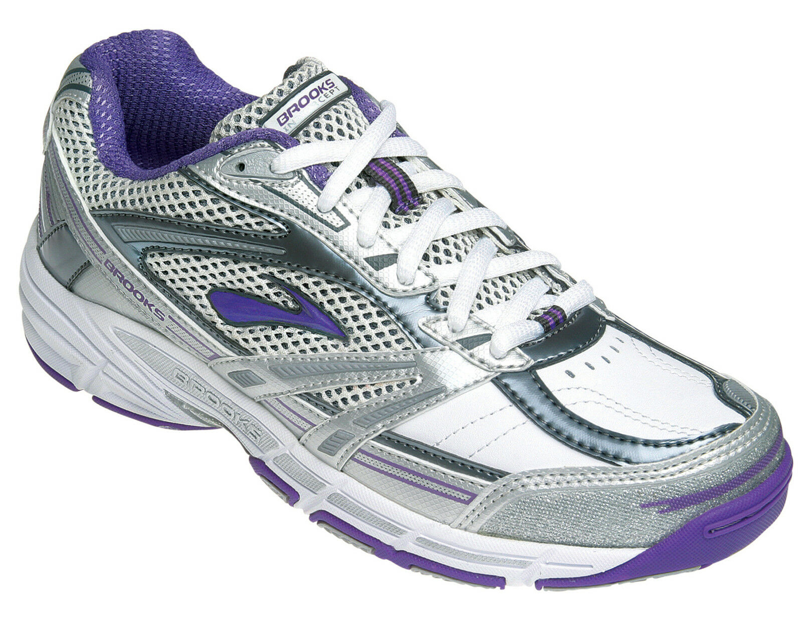 Brooks Net-Intercept Netball shoes (Leather) (968) + Free Aus Delivery