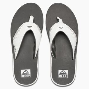 3db250665da4 Image is loading Reef-Mens-Sandals-Fanning-grey-white