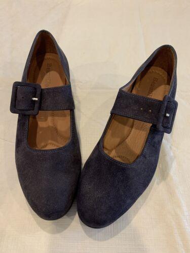 Beautifeel Blue Suede Women's Shoes