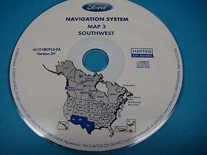 Image Is Loading Ford Navigation Cd Nav Map Sw Az Nm