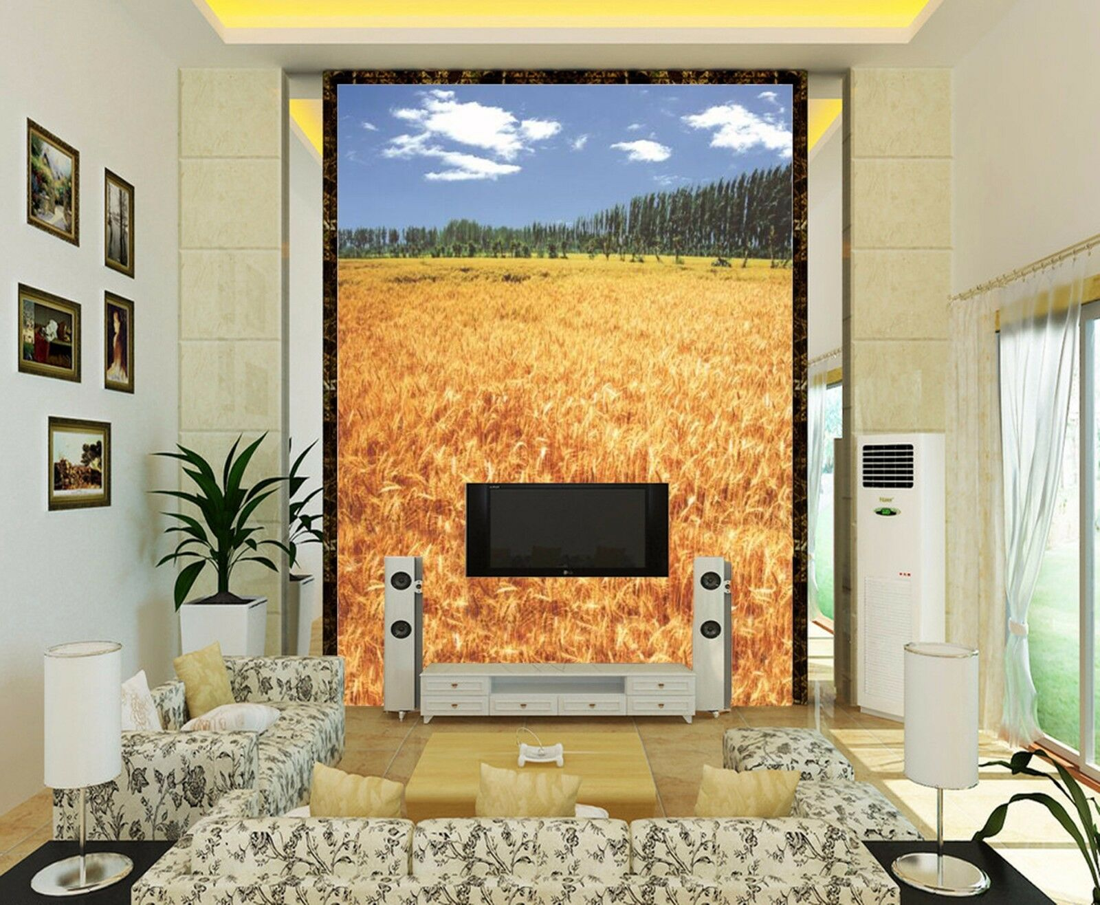 3D Paddy Field 2311 Wall Paper Wall Print Decal Wall Deco Indoor Wall Murals