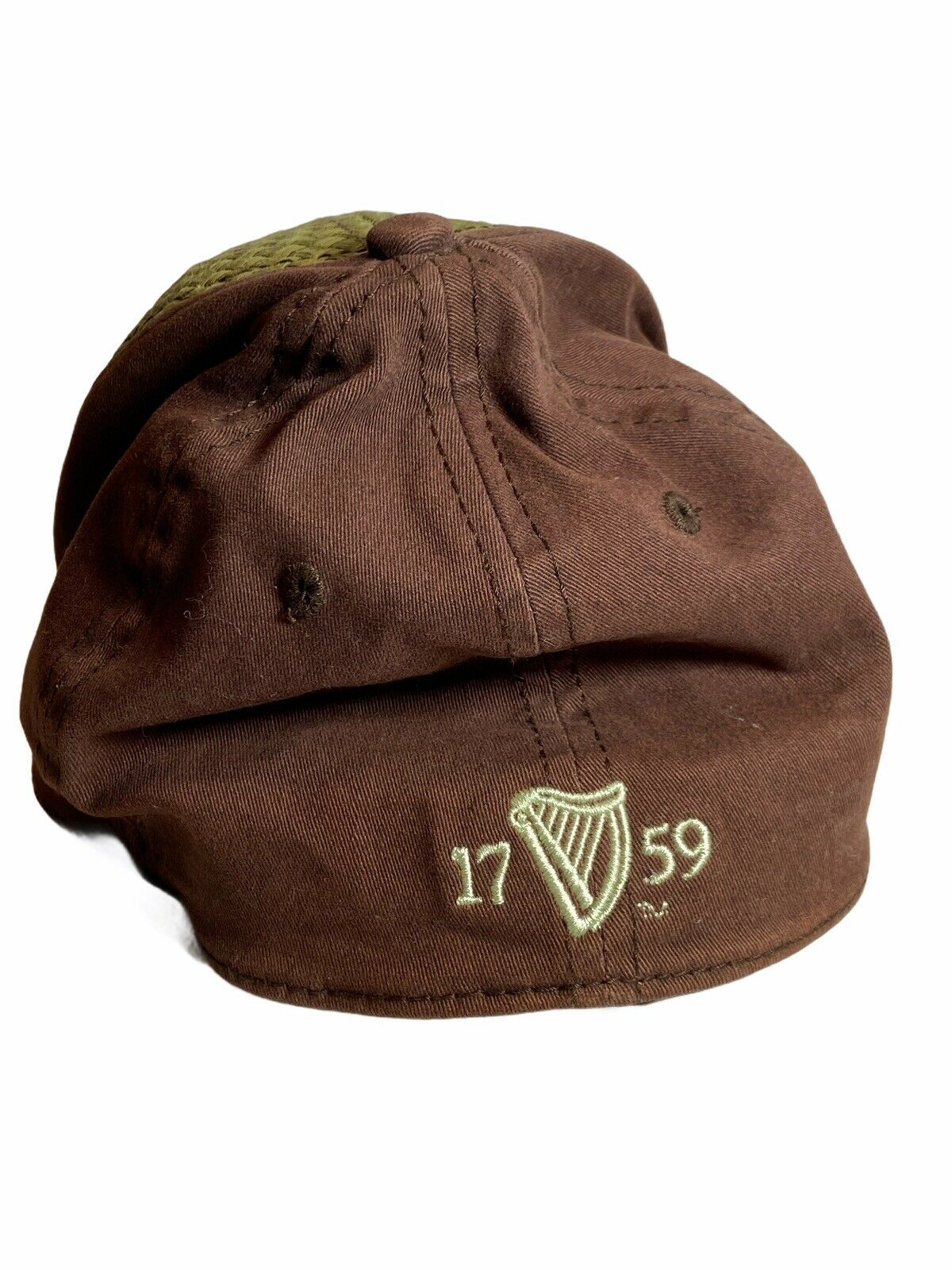 Guinness Beer Woven Straw Cap Hat OS - image 3