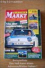 Oldtimer Markt 10/96 BMW 700 Ferrari 212 Inter Alfa GTV