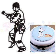 Sugarcraft Patchwork cutters - Judo Karate Man - Cake decoration cutter