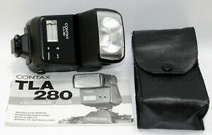 CONTAX-TLA-280-TLA280-Flash-Case-for-Contax-G1-G2-G-RX-ARIA-ST-RTS-S2-EXCELLENT