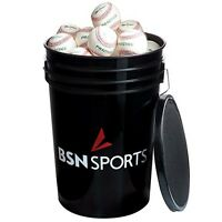 Bsn Sports Ball Bucket - Bucket And Lid Only