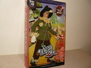 Barbie 50th Anniversary Wizard Of Oz Scarecrow Ken Doll Plays Track From Movie