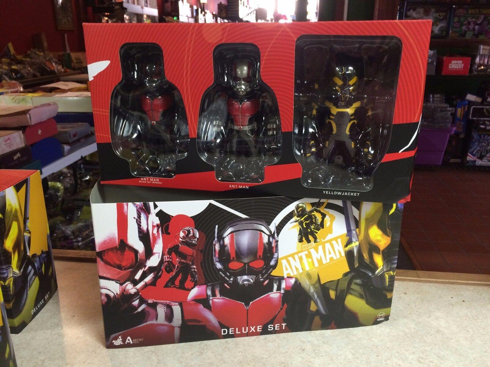 2015 Hot Toys of Marvel ANT-MAN Artist Mix Deluxe Set of Toys 3 Figure NIB  902467 61d477