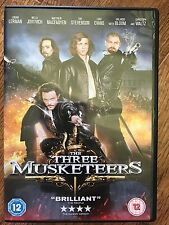 Milla Jovovich Juno Temple Christoph Waltz THREE MUSKETEERS ~ 2011 UK DVD