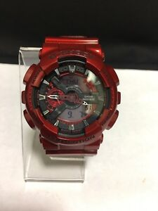 the latest c2f31 addfc Details about Casio G-Shock 5146 GA-110NM Red Resin Analog Digital Watch  (9453-4AJ)
