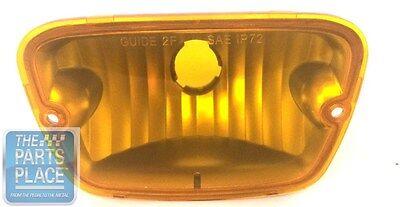 1972-73 Pontiac Firebird Trans Am Park Lamp Lens 1 Piece Amber