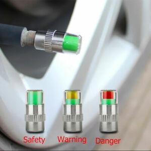 Reifenwaechter-Druckwaechter-Ventilkappen-Druckanzeige-B1X6-Sensor-Alarm-Anze-C1P7