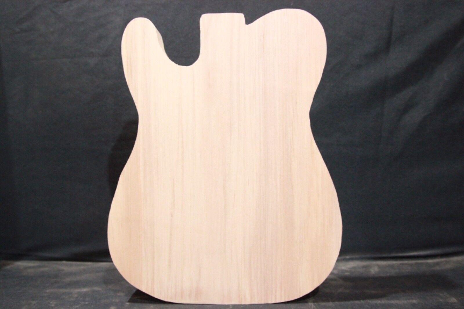 Alder  1-piece guitar body blank   Cut to