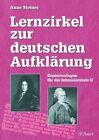 Lernzirkel zur deutschen Aufklärung von Anne Steiner (2003, Geheftet)