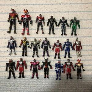 Kamen Rider Kuga and Agito Other Soft Vinyl Action Figure 20-Bodys Set