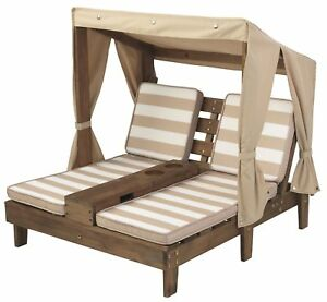 Image Is Loading Kids Double Chaise Lounge Chair Outdoor Patio Furniture