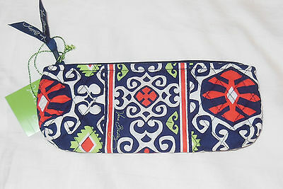NWT Vera Bradley BRUSH & PENCIL Cosmetic Case in SUN VALLEY small makeup bag