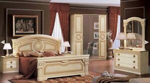 Image Is Loading Versace Aida Design Italian 6 Item Bedroom Set
