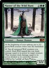 MASTER OF THE WILD HUNT M10 Magic 2010 MTG Green Creature — Human Shaman MYTHIC