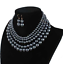 Fashion-Women-Crystal-Necklace-Bib-Choker-Pendant-Statement-Chunky-Charm-Jewelry thumbnail 147