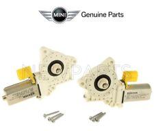 For Mini Cooper R50 R52 05-08 Pair Set of Front Power Window Motors Genuine