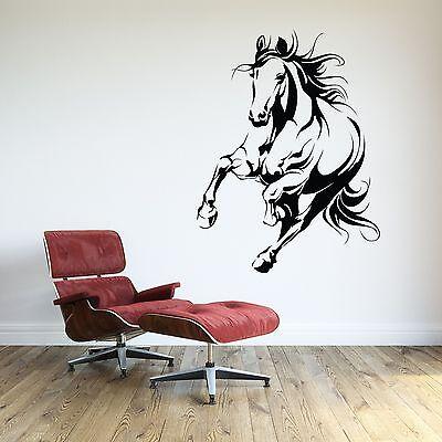 Horse Wall Decal Animal Vinyl Sticker Room Decor Cowboy Theme Extra Large Ebay